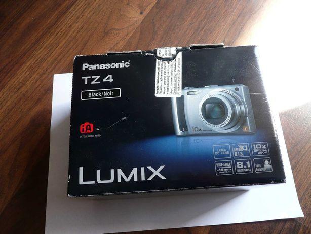 aparat fotograficzny PANASONIC DMC-TZ4  --  REALNIE jak NOWY !!