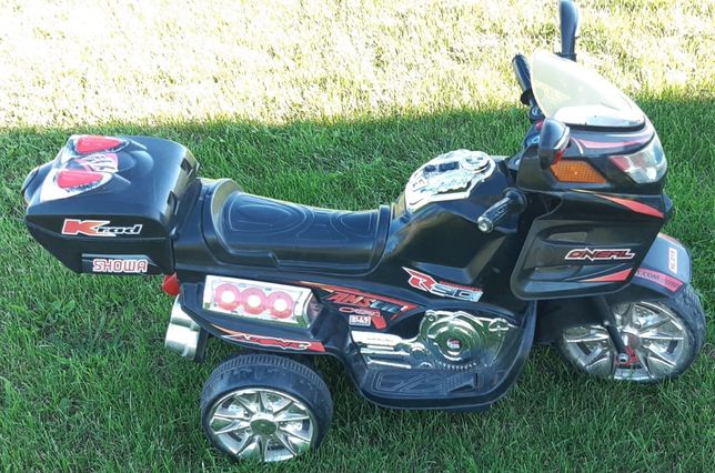 Motorek elektryczny dla dziecka