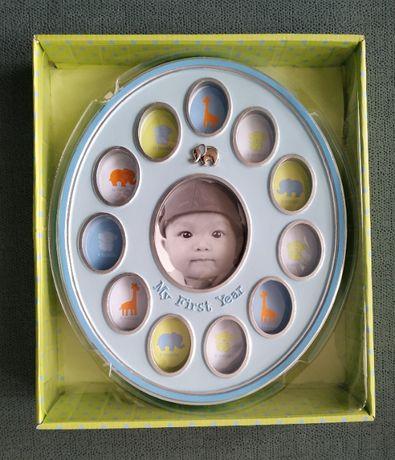 Ramka na zdjęcia na 1 rok dziecka - w oryginalnym opakowaniu - 50 zł
