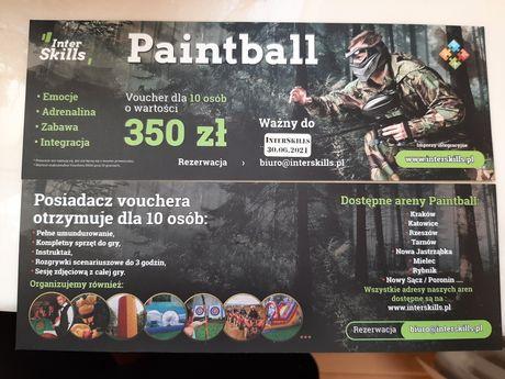 Voucher paintball