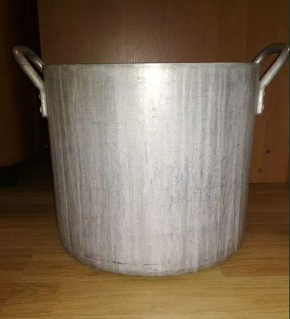 Кастрюля алюмінієва (баняк, Виварка) із кришкою 30 та 40л