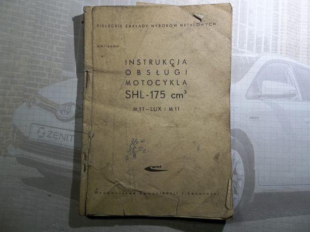 SHL 175, M11 instrukcja obslugi 1966r