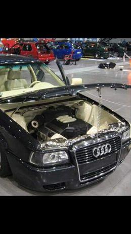 Audi 80 B4 Profesionalnie przerobiony przód na duży gril.Okazja.
