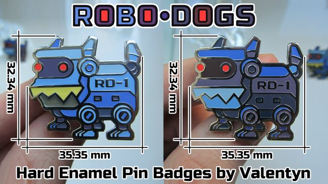 Ексклюзивний значок - пін - за моїм дизайном / Hard Enamel Pin Badges