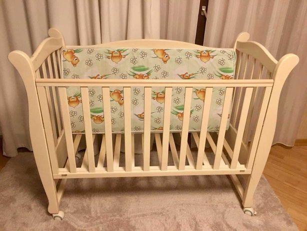 Детская кровать Верес «Соня». Постельное белье, защита