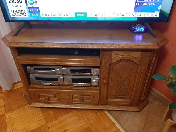 Komoda pod telewizor-drewno