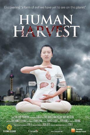 "DVD documentário ""Human Harvest"""