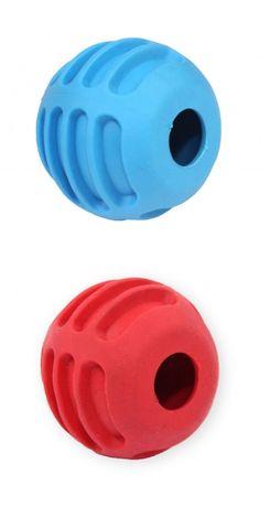 Zabawka Kong na przysmaki dla małego psa piłka 6cm z dzwonkiem nowa!