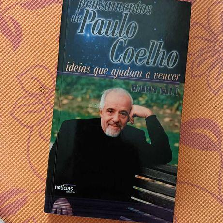 Livro de bolso: Pensamentos de Paulo Coelho, 1ª ed. 2002