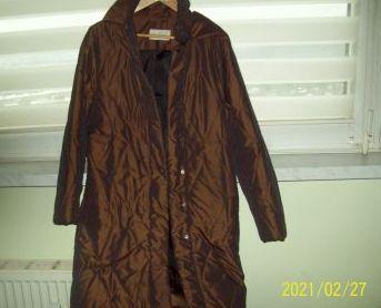 Płaszczyk zimowy brązowy Maria Bland