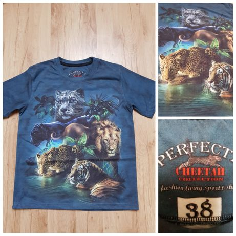T-shirt, bluzka z krótkim rękawem. 3D. Rozmiar 140/152 cm.