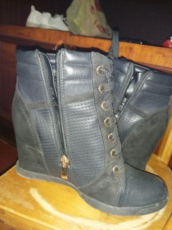 Ботиночки, кожа