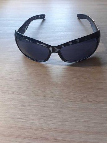 Okulary przeciwsłoneczne damskie wraz z etui