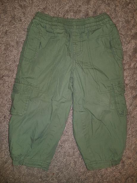 Spodnie ocieplane polar dla chłopca 86 5.10.15. na zimę