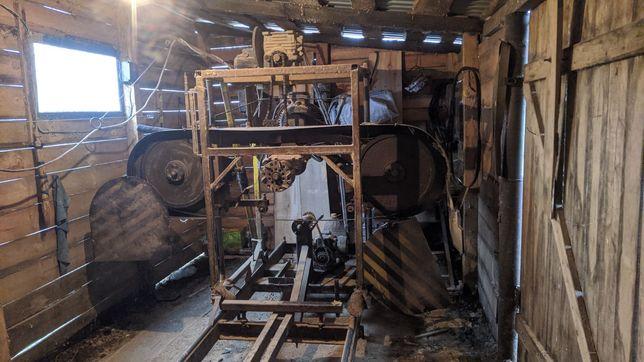 Пилорама,станки для виготовлення зрубів на базі пилорами