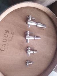 Torneiras em Inox barril/barris/pipos madeira