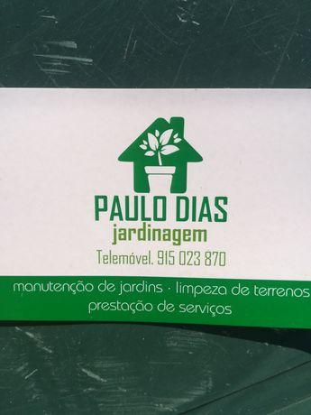 Limpeza terrenos e manutenção Jardins