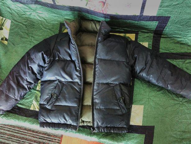 Очень теплая двухсторонняя куртка