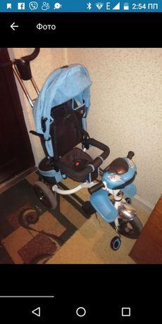 Трёхколёсный велосипед для мальчика
