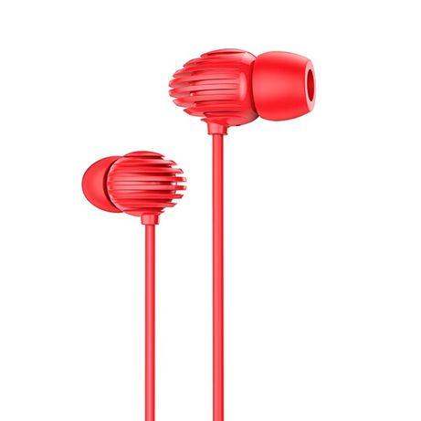 Fones Joyroom In-Ear 3.5Mm Mini Jack Remote And Microphone Vermelho (Jr-El112)