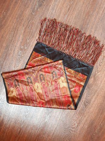 Шикарный шелковый шарф Lanvin  оригинал