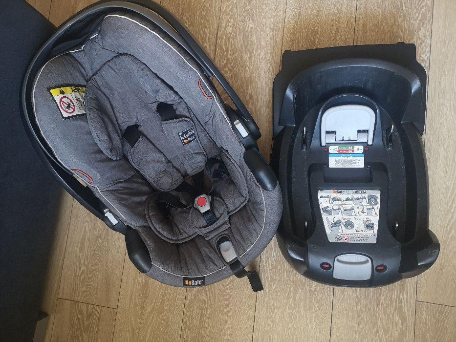 Fotelik samochodowy BeSafe Izi Go 0-13 kg plus baza isofix