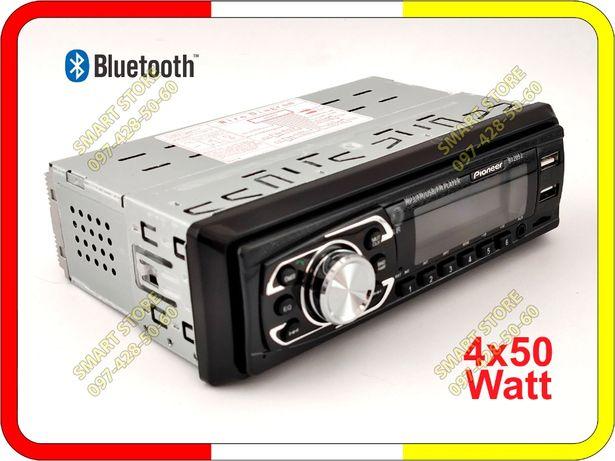 Автомагнитола Pioneer 2052. Bluetooth/USB/AUX/4x50W