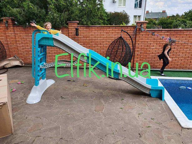 Водна Гірка для спуску в бассейн МегаГірка Дитяча горка