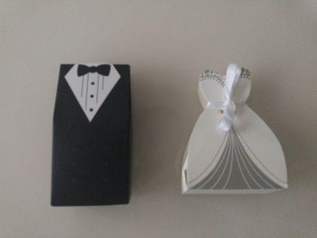 Pudełka na prezent dla gości weselnych