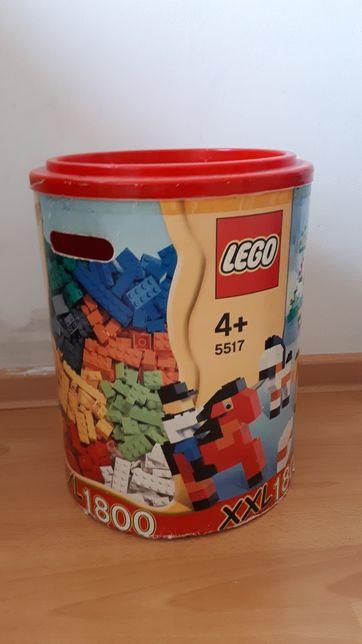 Pojemnik LEGO karton + plastikowa pokrywka ok 30x40 cm