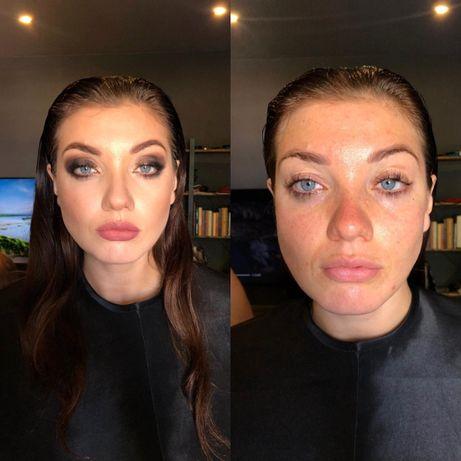 услуги макияжа / окрашивание, оформление и ламинирование бровей