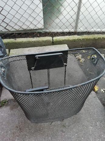 Koszyk na rower metalowy