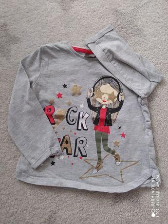 Koszulka dziewczęca 98 104