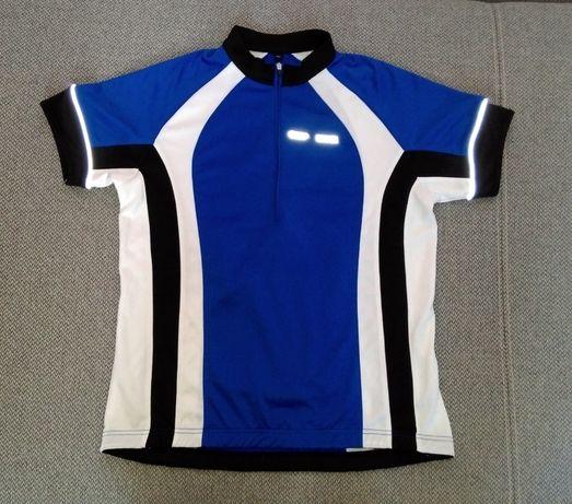 Koszulka rowerowa kolarska CMP system DRY Function kieszonka odblaskow