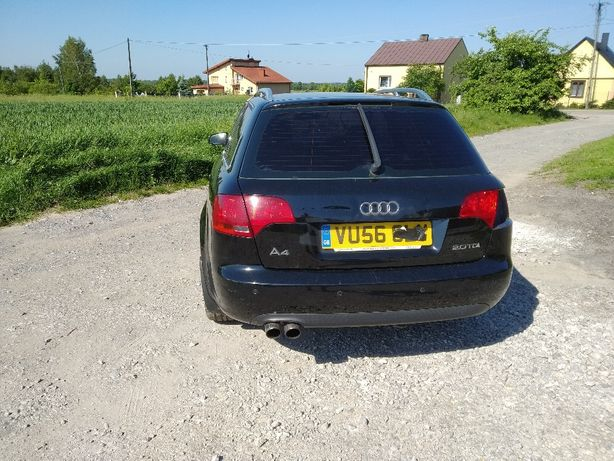 Zderzak tylny Audi A4 B7 LY9B kombi