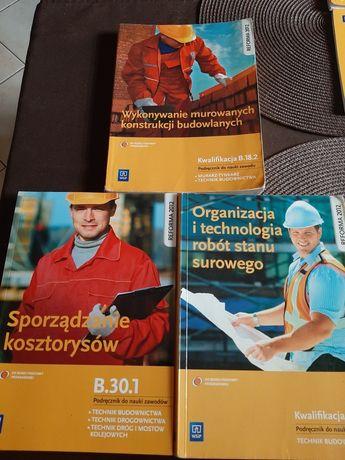 Podręcznik do nauki zawodu, Technik budownictwa.