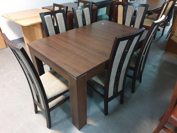 Stół + 8 krzeseł Komplet