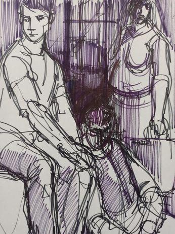 Desenho original Manuel Lima