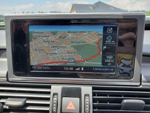 Audi A6 A7 RMC Najnowsza Mapa Europy 2021 Nawigacja Karta SD