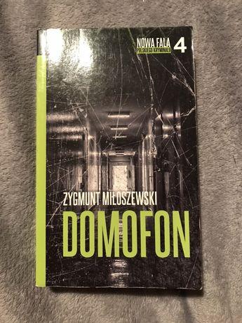 """Książka """"Domofon"""" Zygmunt Miłoszewski"""