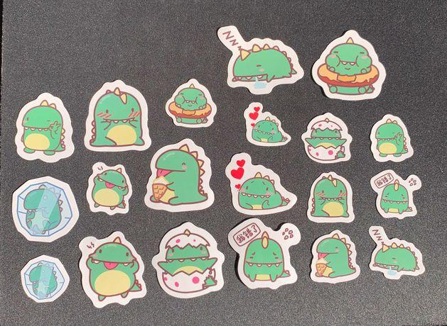 Crocodilo Cartoon Stickers Pack (20 autocolantes)