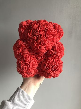 Różany miś