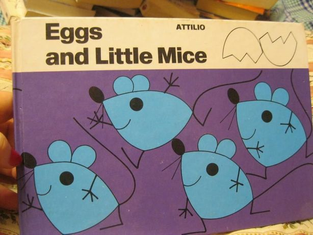 Egss and little Mice на английском языке детская книга о мышке картон