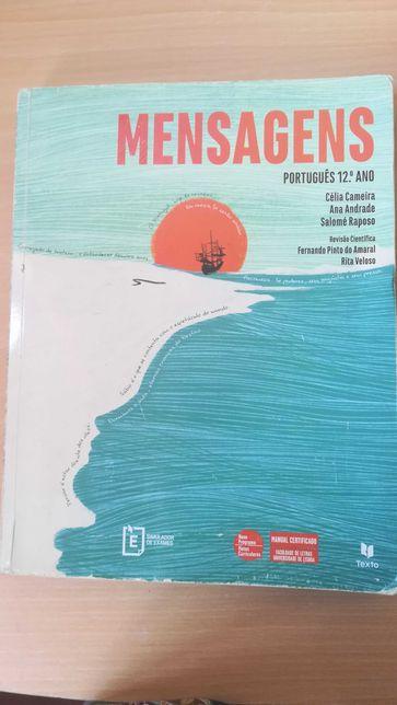 """Manual de Português 12º ano - """"Mensagens"""""""