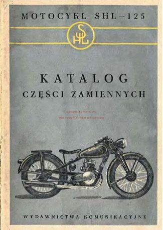 Katalog części motocykla SHL 125 - M04
