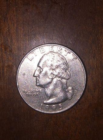 Монеты США Quarter dollar