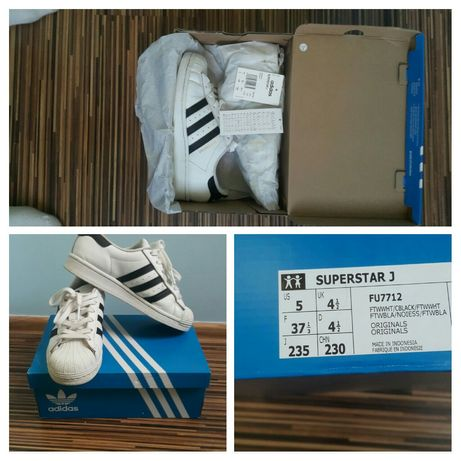 Adidas superstar 37,1/3