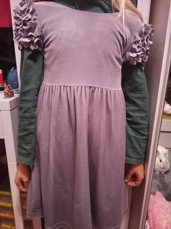 Sprzedam welurową sukieneczke, idealną na Święta