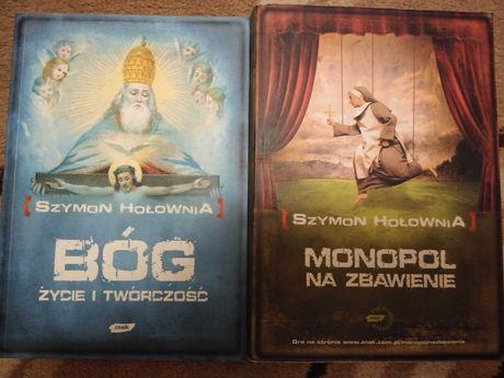 """Szymon Hołownia """"Monopol na zbawienie"""" i """"Bóg. Życie i twórczość"""""""