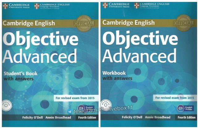 Objective Advanced (4th Ed.) CAE 2015. Учебник + Тетрадь +Тесты +Аудио